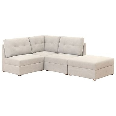 Pbteen Pertaining To Armless Sectional Sofas (View 10 of 10)