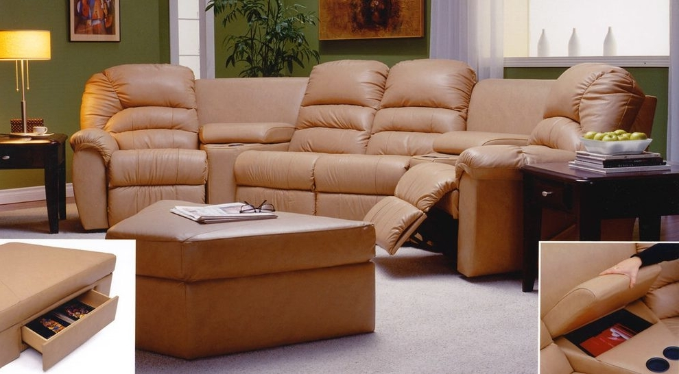 Philadelphia Sectional Sofas With Regard To Current Impressive Philadelphia Sectionals With Recliners Home Theater (View 7 of 10)