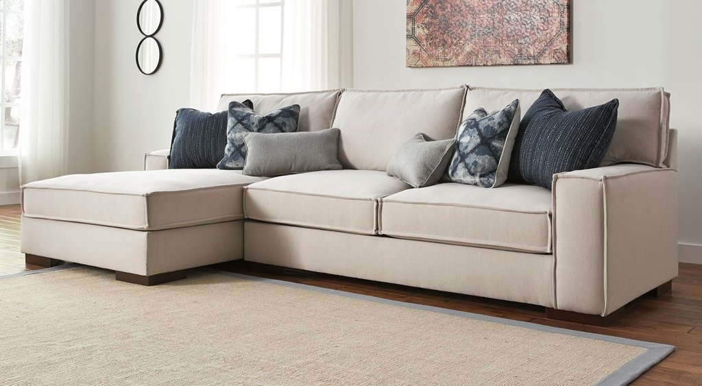 Picturesque Loretta 2 Piece Sectional Jennifer Furniture On Sofa Throughout Most Popular Sectional Sofas At Sam's Club (View 7 of 10)