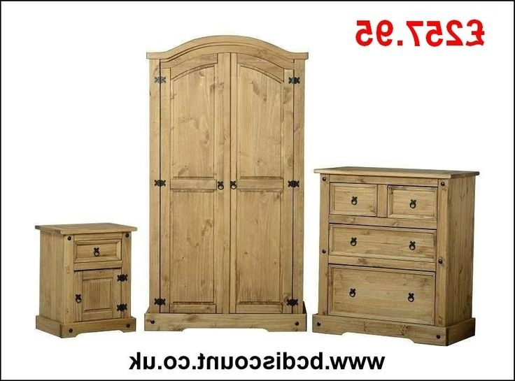 Pine Pertaining To Pine Wardrobes With Drawers And Shelves (View 8 of 15)