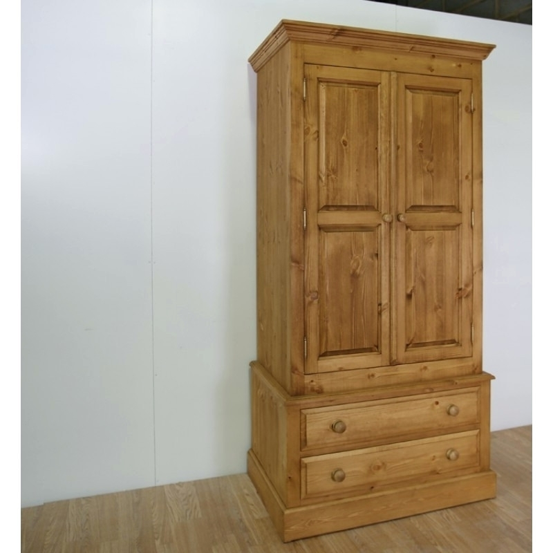 Pine Wardrobes With Drawers And Shelves Pertaining To 2017 Wardrobes ~ Wardrobe With Drawers And Shelves Uk 3 Door Wardrobe (View 8 of 15)