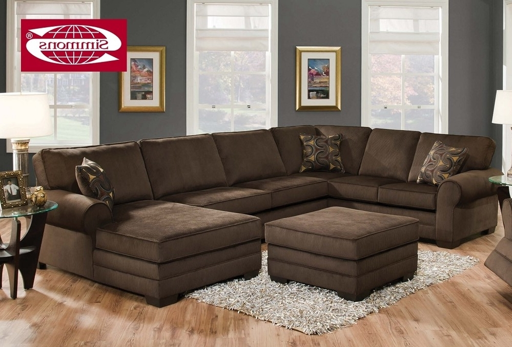 Plush Sectional Sofas Throughout Most Popular Good Plush Sectional Sofas 70 With Additional Sofa Table Ideas (View 10 of 10)