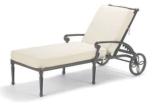 Pool Chaise Lounge Chairs For Current Chaise Lounge Chairs For Patio (View 10 of 15)