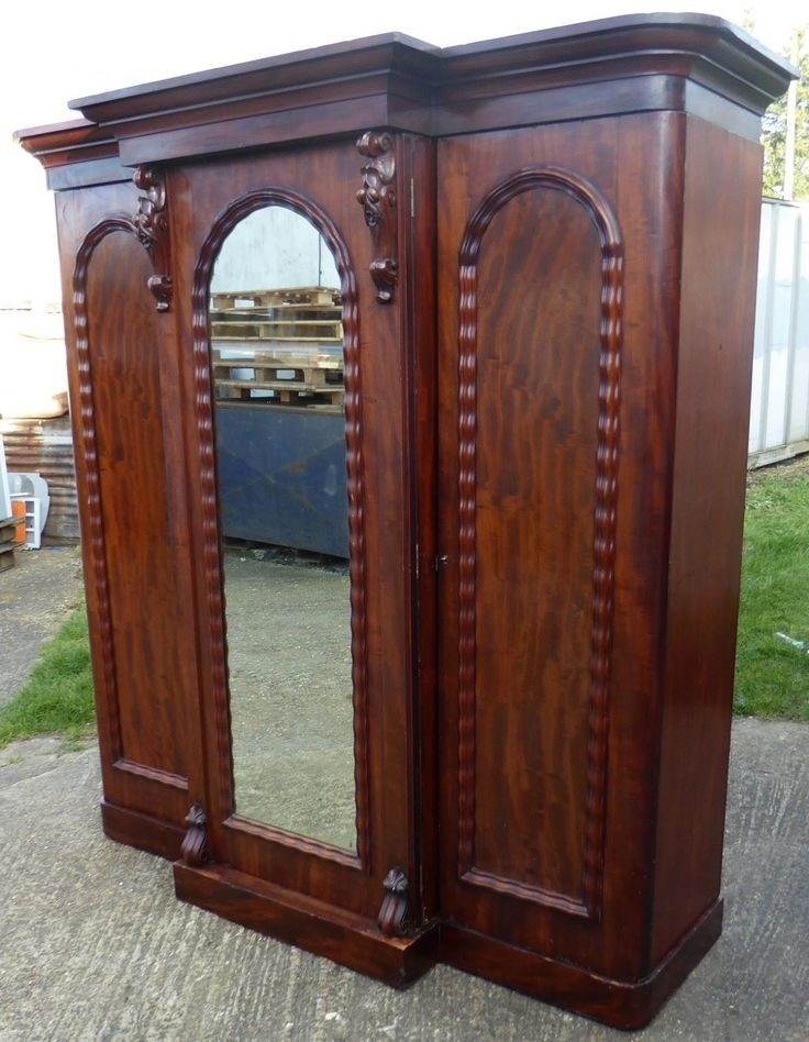 Popular 12 Best Antique Wardrobes Images On Pinterest (View 13 of 15)