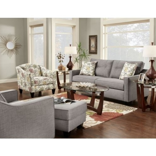 Popular Accent Sofa Chairs Regarding Terrific Dallas Sofa And Accent Chair Set At Hom Furniture House (View 3 of 10)