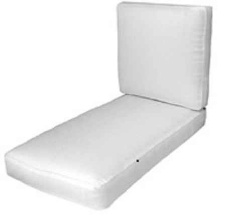 Popular Chaise Lounge Cushions, Tufted Cushions, Replacement Seat Cushion Pertaining To Chaise Lounge Chairs With Cushions (View 10 of 15)