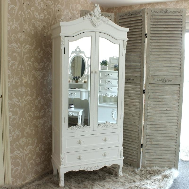 Popular Cheap Shabby Chic Wardrobes For Shabby Chic White Bedroom Furniture – Asio (View 11 of 15)
