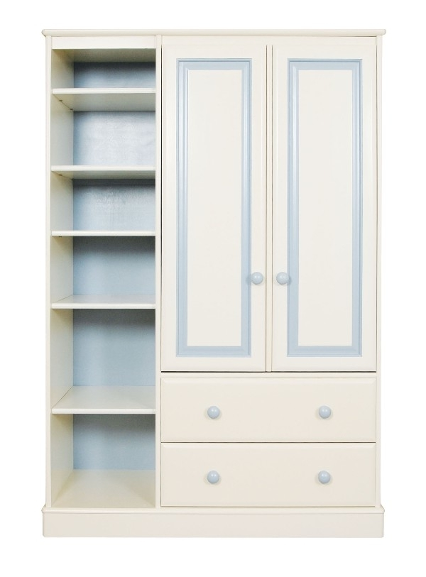 Popular Childrens Wardrobes With Drawers And Shelves Regarding Childrens Wardrobes – Interior4You (View 10 of 15)