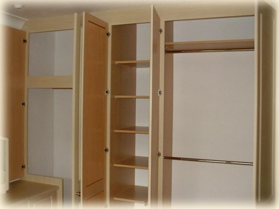 Popular Classique Bedrooms Catalogue – Wardrobe Door Designs, Decors Pertaining To Double Rail Wardrobes (View 11 of 15)