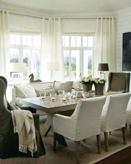 Popular Dining Sofa Chairs Regarding Marvellous Dining Room Table With Sofa Seating Gallery Best Idea (View 7 of 10)
