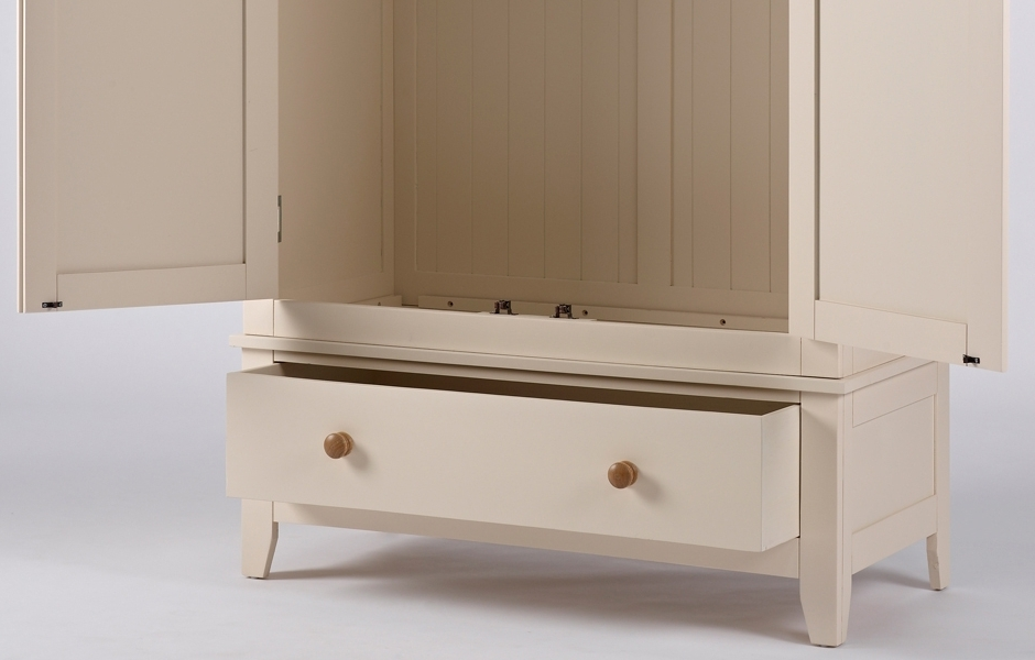 Popular Double Wardrobe With Drawer – Camden Pertaining To Camden Wardrobes (View 13 of 15)