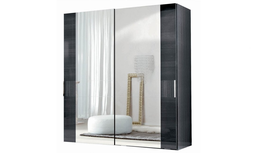 Popular Double Wardrobes With Mirror With Regard To Sliding Mirror Wardrobe Doors Ikea Wardrobes Mirrored Door Sale (View 12 of 15)