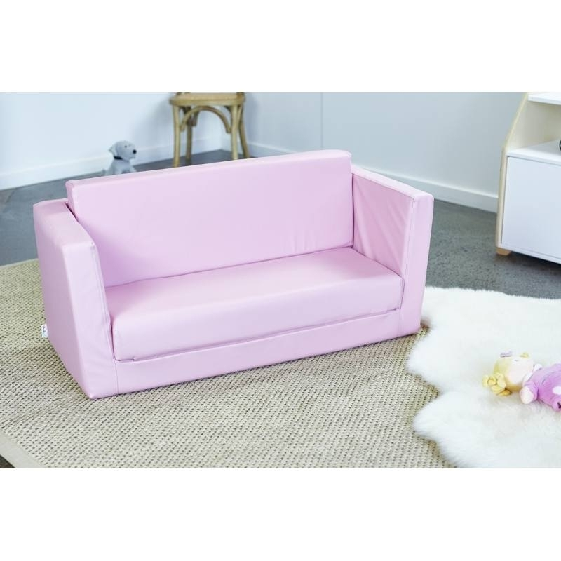 Popular Flip Out Sofa For Kids Regarding Kids 2 Seater Flip Out Sofahipkids (View 9 of 10)