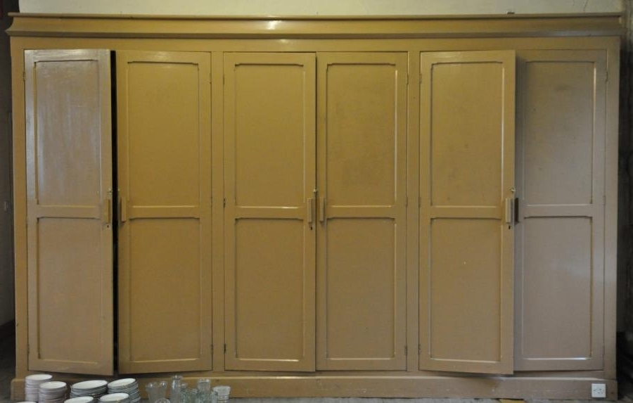 Popular For Sale Set Of Antique Victorian Pitch Pine Cupboard Doors Salvo Intended For Victorian Pine Wardrobes (View 13 of 15)