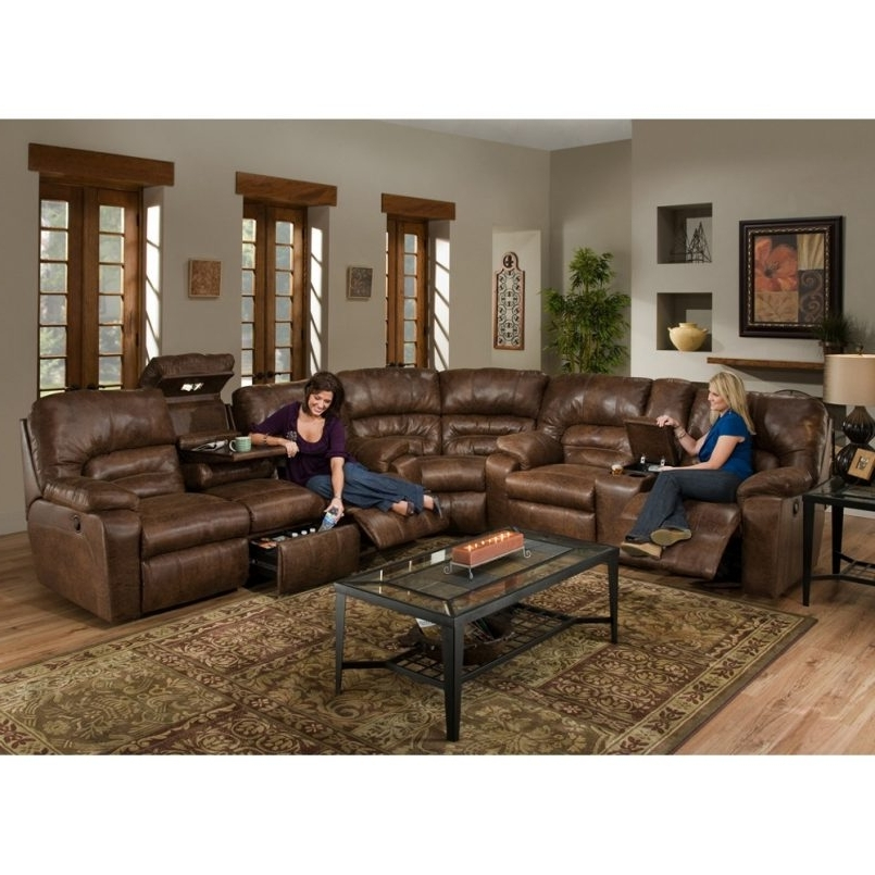 Popular Furniture : Youth Recliner Large Sectional Sofas With Ottoman Pertaining To 100X100 Sectional Sofas (View 9 of 10)