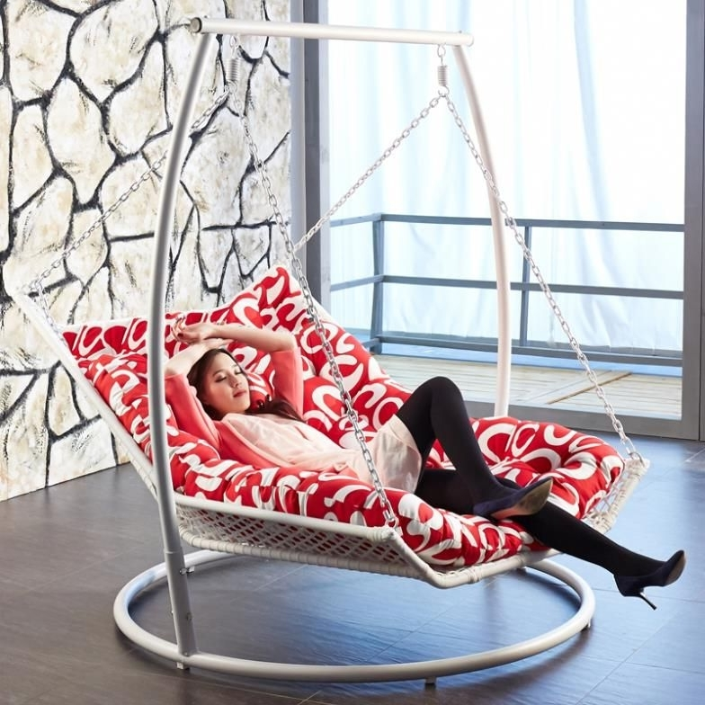 Popular Indoor Hanging Chaise Lounge. (View 12 of 15)