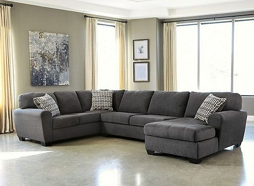 Popular Jacksonville Nc Sectional Sofas Throughout Francene 3 Pc (View 8 of 10)