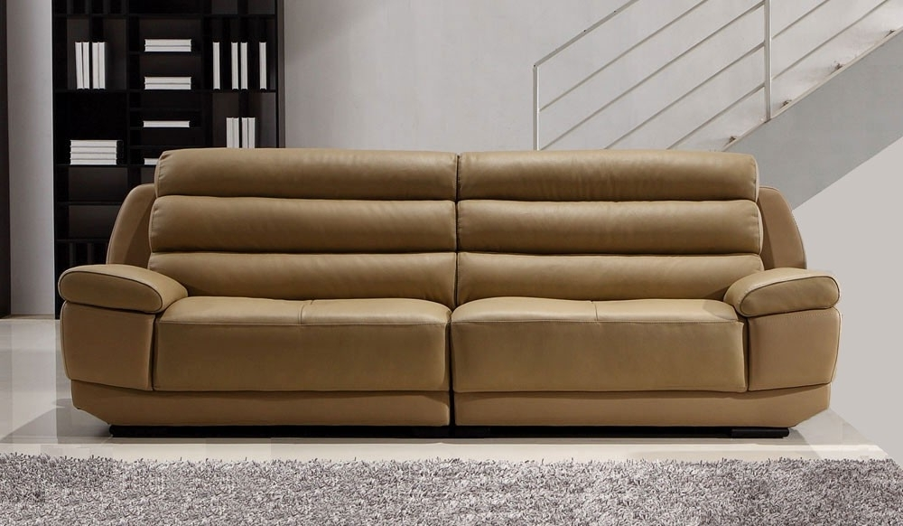 Popular Large 4 Seater Sofas Within Fanelli Large Leather Sofa – 4 Seater – Delux Deco (View 7 of 10)