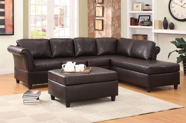 Popular Leather Couch With Chaise – Raclette With Regard To Leather Couches With Chaise (View 10 of 15)