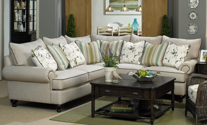Popular Paula Deen Home Sectional Sofa Grand Home Furnishings K3015 Paula Throughout Grand Furniture Sectional Sofas (View 7 of 10)