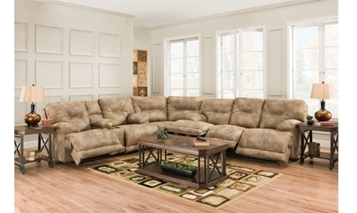 Popular Reclining Sectional Sofa Multiple Recliners With Farmers Furniture Sectional Sofas (View 7 of 10)