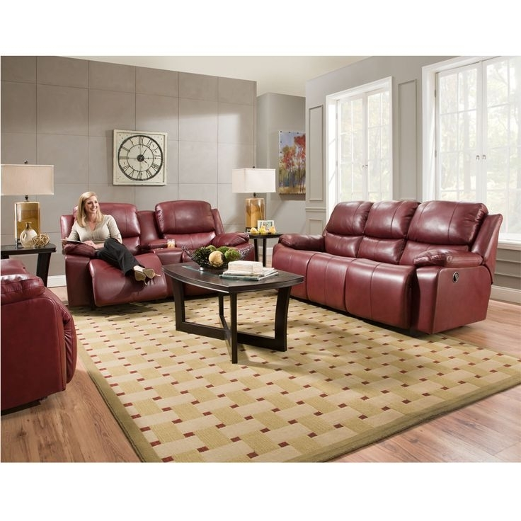 Popular Red Leather Reclining Sofas And Loveseats In 18 Best Reclining Sofas And Sectionals – Franklin Corporation (View 14 of 17)