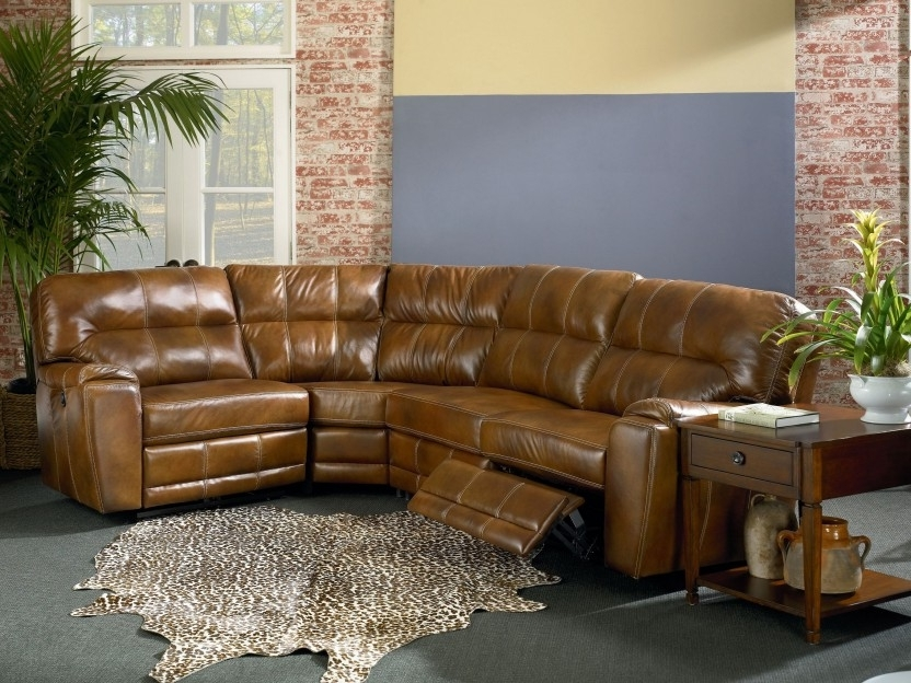 Popular Sectional Sofa Design: Sectional Sofa Recliners Small Spaces In Sectional Sofas With Recliners Leather (View 10 of 10)