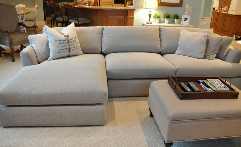 Popular Sectional Sofa : Wide Seat Sofa Extremely Comfortable Couches Deep Regarding Wide Seat Sectional Sofas (View 5 of 10)