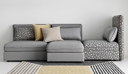 Popular Sectional Sofas & Couches – Ikea Pertaining To Sectional Sofas With Cuddler Chaise (View 12 of 15)
