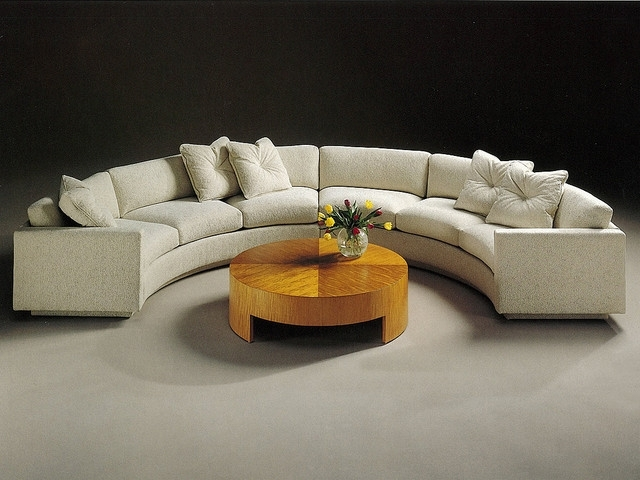 Popular Semi Circle Sectional Sectional Sofa Design Elegant Semi Circular Pertaining To Semicircular Sofas (View 6 of 10)