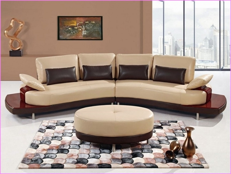 Popular Semicircular Sofas Pertaining To Sofa Beds Design: Extraordinary Modern Semi Circular Sectional In (View 7 of 10)