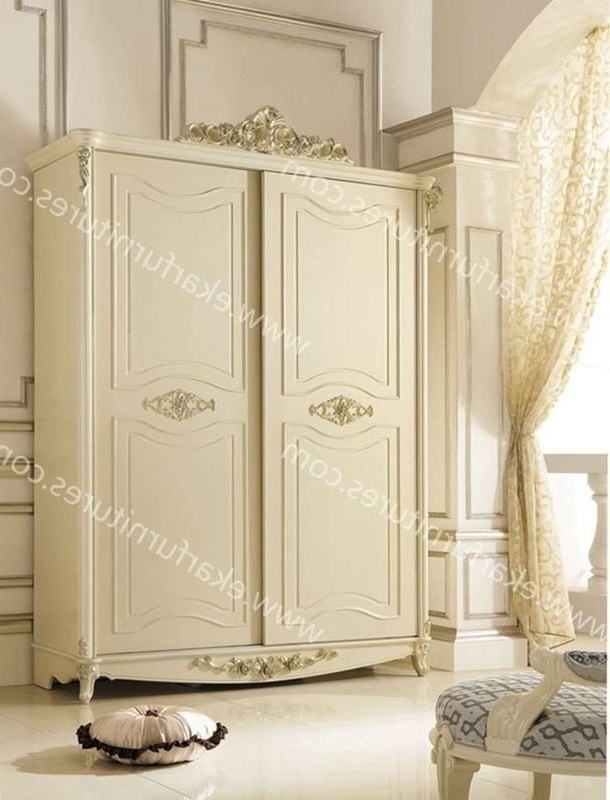 Popular Shabby Chic Wardrobes For Sale Regarding Luxury Antique Italy Shabby Chic Wardrobe, Armories For Sale  (View 8 of 15)