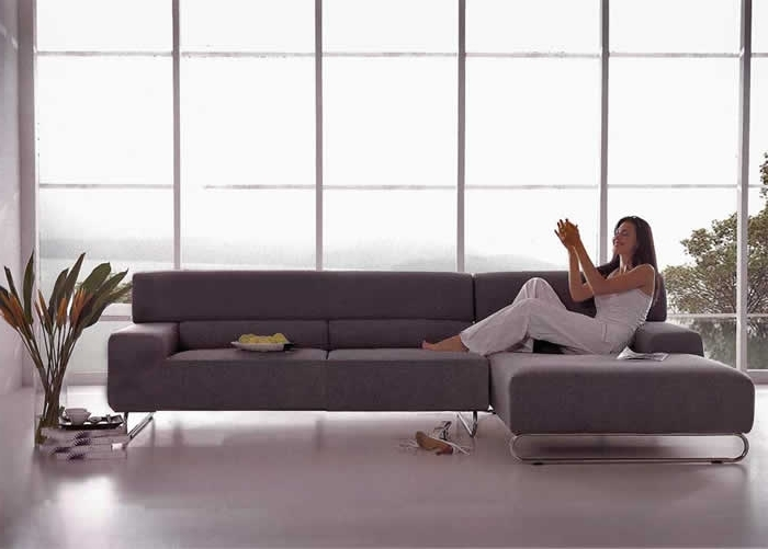 Popular Small Modern Sectional Sofa And Stylish And Cool Sectional Couches With Modern Sectional Sofas For Small Spaces (View 6 of 10)