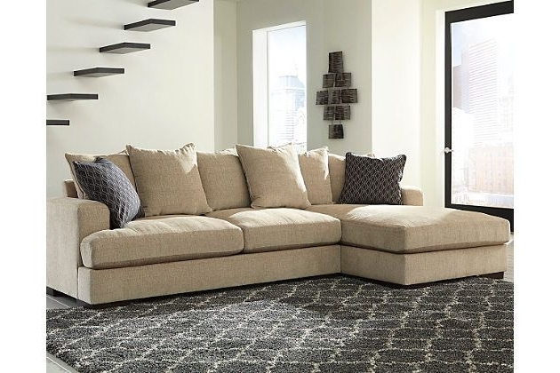 Popular The Aquaria 2 Piece Sectional Is A Beautiful Case Of Opposites In 10X8 Sectional Sofas (View 9 of 10)