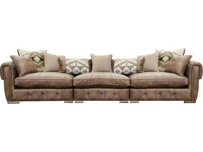 Popular Wilson Extra Large Leather Sofa – Lee Longlands Throughout Extra Large Sofas (View 5 of 10)