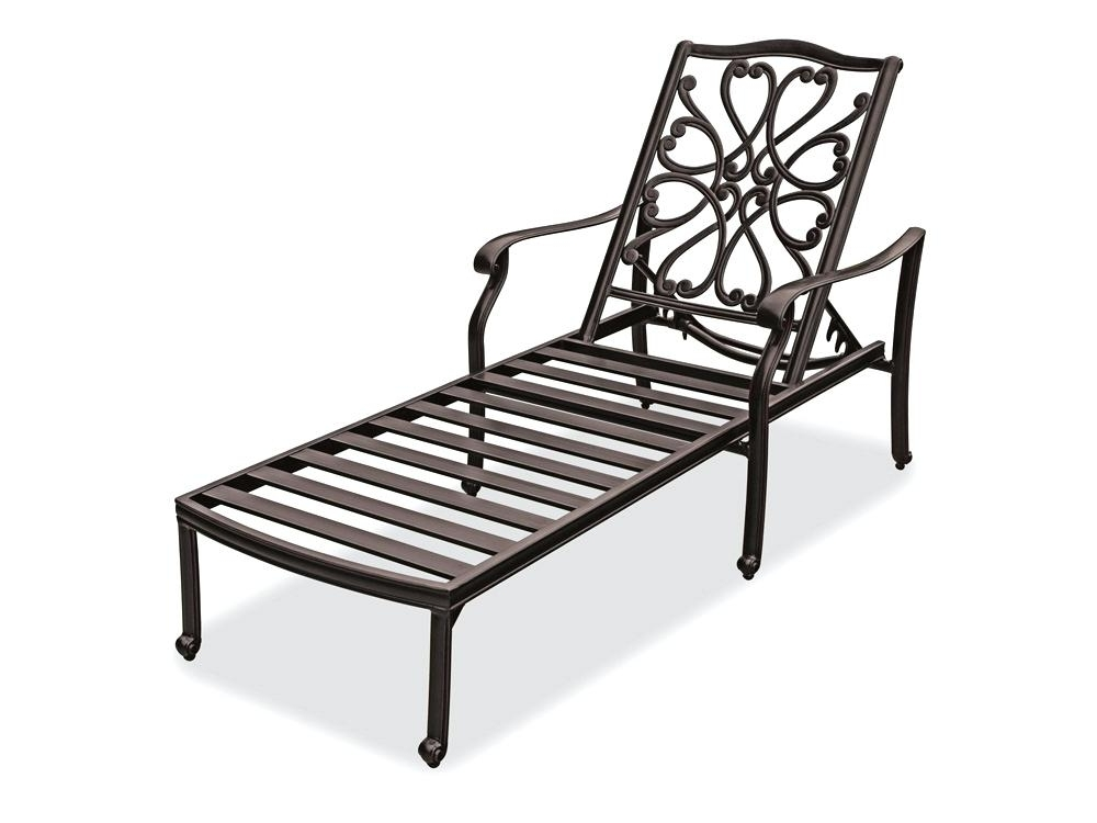 Popular Wrought Iron Chaise Lounge Chairs Amazing Chaise Lounge Key Chaise With Regard To Wrought Iron Chaise Lounges (View 8 of 15)