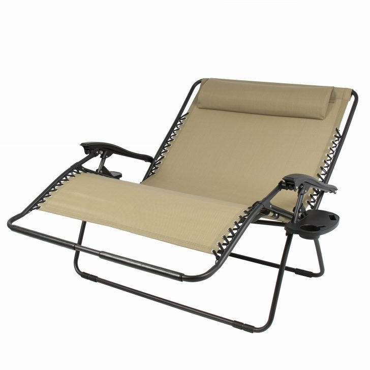Portable Outdoor Chaise Lounge Chairs Regarding Trendy Convertible Chair : Outdoor Chaise Patio Lounge Chairs Double (View 4 of 15)