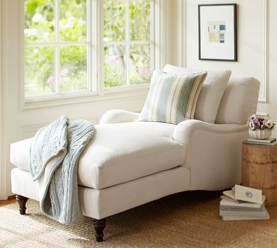 Pottery Barn For Upholstered Chaise Lounges (View 5 of 15)