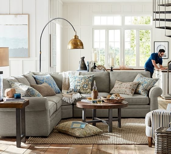 Pottery Intended For Pottery Barn Sectional Sofas (View 4 of 10)