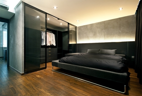 Preferred 15 Stunning Glass Wardrobe Designs – Bedroomm Throughout Black Glass Wardrobes (View 12 of 15)
