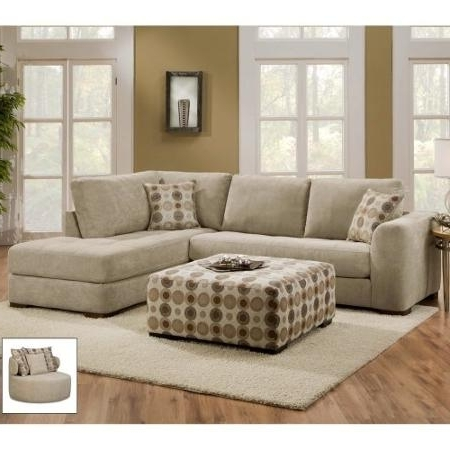 Preferred 2 Piece Sectional Sofas With Chaise Inside Sectional Sofa Design: Elegant 2 Pieces Sectional Sofa With Chaise (View 11 of 15)