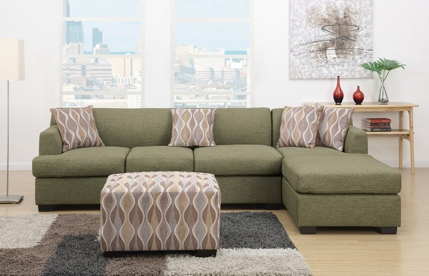 Preferred 20 Types Of Modular Sectional Sofas With Green Sectional Sofas With Chaise (View 6 of 10)