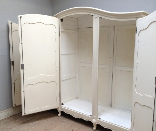 Preferred 3 Door French Wardrobes With Regard To If3492 French Provencal Style Armoire (View 11 of 15)