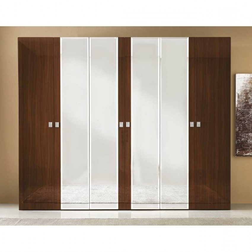 Preferred 6 Door Wardrobes Bedroom Furniture Throughout Modern Italian Wardrobes High Gloss Bedroom Furniture On Sale  (View 12 of 15)