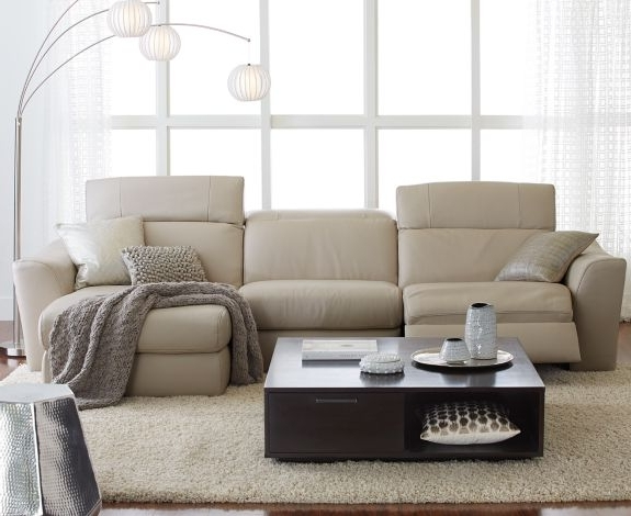 Preferred Alessandro 6 Piece Leather Sectional With Chaise & 2 Power Motion In 6 Piece Leather Sectional Sofas (View 7 of 10)