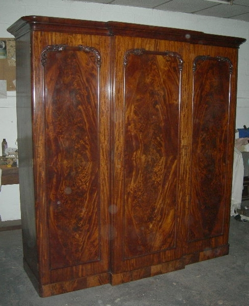Preferred Antique Furniture Warehouse – Antique Mahogany Wardrobe – Mid 19Th Throughout Antique Wardrobes (View 12 of 15)