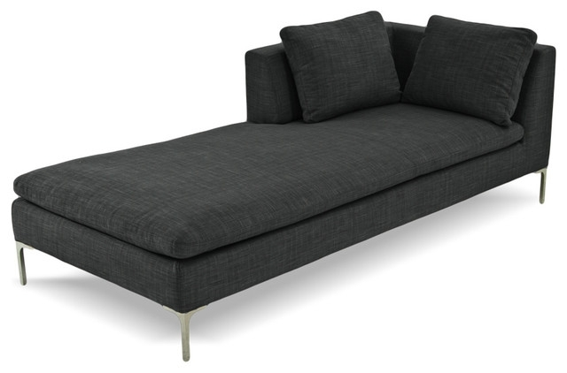Preferred Beautiful Grey Chaise Lounge Natural Ultramodern Day Beds And In Black Chaises (View 15 of 15)