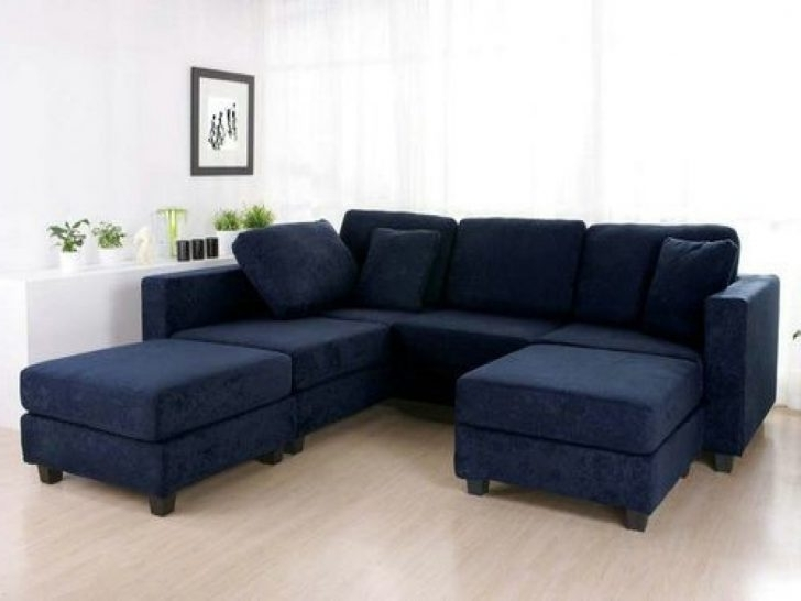 Preferred Blue Sectional Sofas With Regard To Lovely Dark Blue Sectional Sofa – Buildsimplehome (View 10 of 10)
