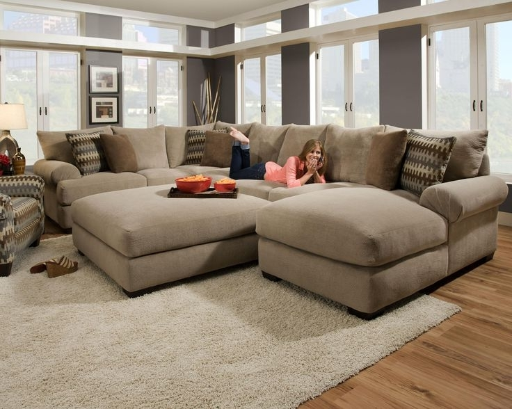 Preferred Deep Seating Sectional Sofas Pertaining To Great Deep Seated Sectional Sofa 55 In Sofa Table Ideas With Deep (View 7 of 10)