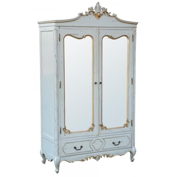 Preferred Home Design : Trendy French Shabby Chic Wardrobes Armoire Cupboard Inside Shabby Chic Wardrobes For Sale (View 9 of 15)